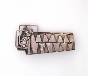 1974, Brooch Sterling Silver, Muhling Collection