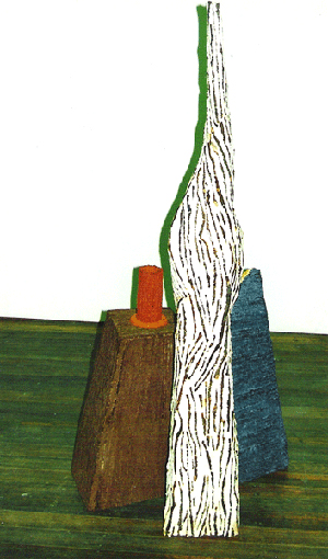 1994-Still-Life-No-1-Wood,-paper-mache,-paint-Muhling-Collection-