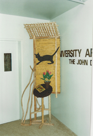 1995-Tongue-st-Carved-timber,-recycled-tin,-paper-mache-paint,-